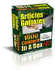 Thumbnail Articles Galaxies - 1500 Articles In A Box  PLR