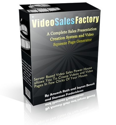 Product picture Video Sales Factory -Create Stunning Sales Videos - MRR