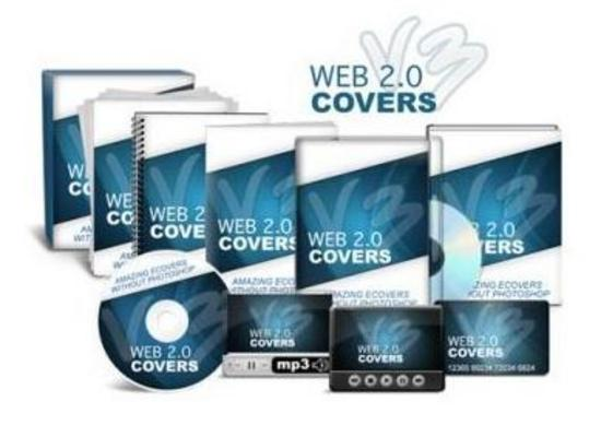 Product picture Web 2.0 Covers V3 Wiith Video Instructions