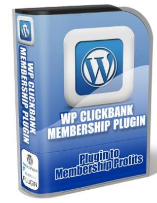 Product picture WP Clickbank Membership Plugin with Master Resale Rights