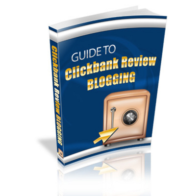 Product picture Guide To Clickbank Review Blogging Ebook - MRR