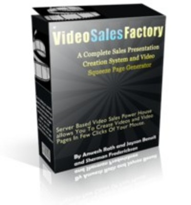Product picture Video Sales Factory - Build Videos & Squeeze Pages - MRR