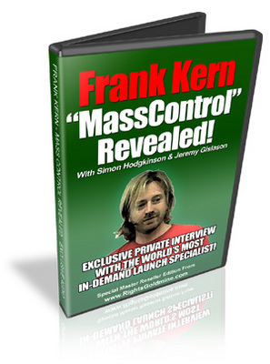 Product picture Frank Kern - Mass Control Revealed MP3 Audio & PDF