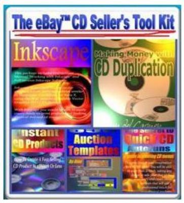 Product picture Ebay CD Seller Graphics Toolkit - MRR