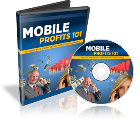 Product picture Mobile Profits 101 - Mobile Marketing Videos With MRR