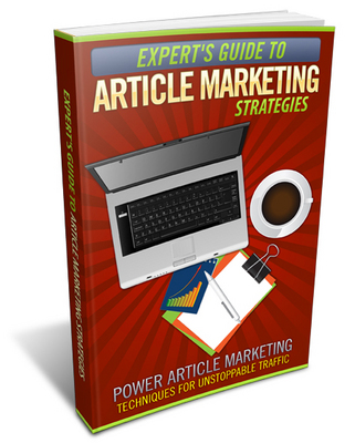 Product picture Expert Guide To Aricle Marketing Strategies - MRR