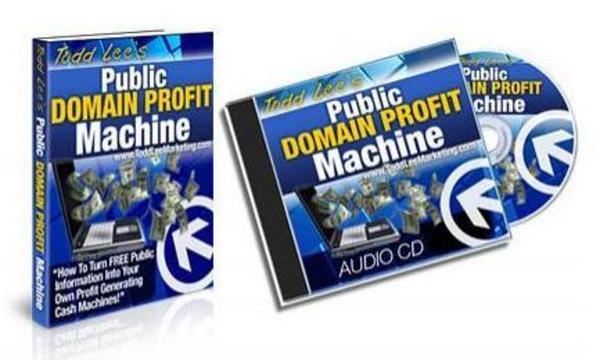 Product picture Public Domain Profit Machine Ebook & MP3 Audios - MRR