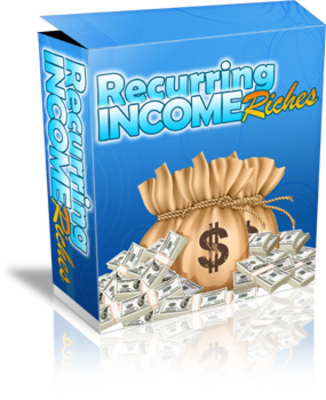 Product picture Recurring Income Riches - Profit From Membership Sites MRR