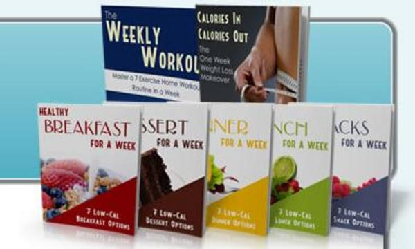 Product picture Weight Loss In A Week - 7 PLR eBook Package