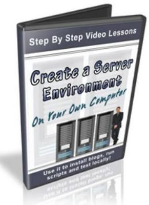 Product picture Create A Server Environment On Your Own Computer