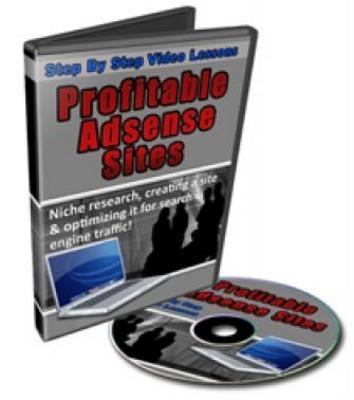 Product picture Create Profitable Adsense Sites Video Tutorials
